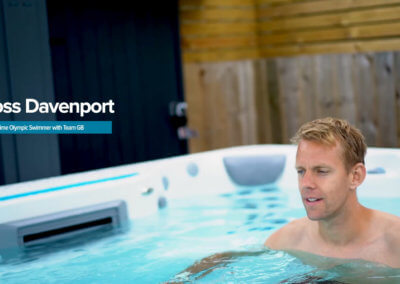 Endless Pools – Promo with Team GB Olympic Swimmer Ross Davenport